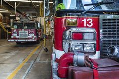 Reportagem do fogo de Chicago imagem de stock royalty free