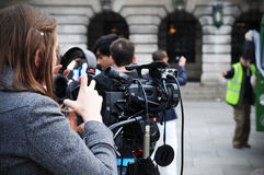 Reporter Stock Images