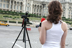 Reporter Royalty Free Stock Image