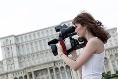 Reporter stockbild