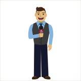 reporter Immagini Stock