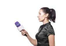 Reporter Royalty Free Stock Images