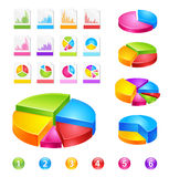 Reports. Make your reports or presentations more illustrative ( new forms and colours Stock Images