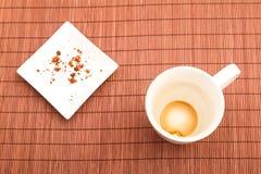 Repos après petit déjeuner Photo stock