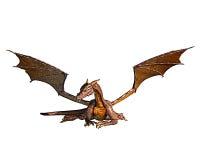 Repos d'or de dragon Photo libre de droits