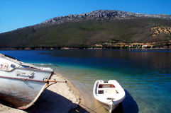 Repos de bateaux Photos libres de droits