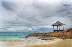 Repos en île Photographie stock libre de droits