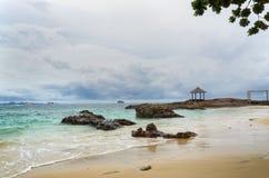 Repos en île Photo libre de droits