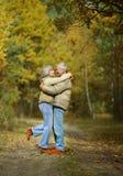 Repos supérieur de couples image stock