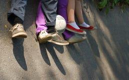 Repos uni de famille Photo libre de droits