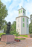 Reposaari. Finland. Monument to the sailors Stock Photography