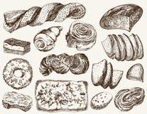 Repostería y pastelería Fotos de archivo libres de regalías