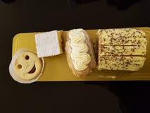 repostería y pastelería de la panadería foto de archivo libre de regalías
