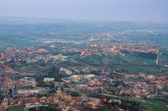 Reppublic San Marino Stockfotos