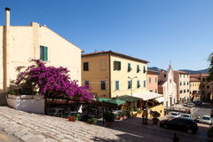 Reppublica Square View, Portoferraio, Elba Royalty Free Stock Image