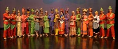 Représentation culturelle malaisienne Photos stock