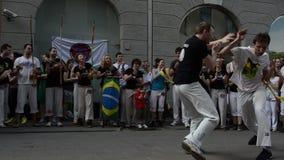 Représentation de Capoeira banque de vidéos