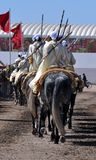 Représentation de la fantaisie traditionnelle au Maroc image libre de droits