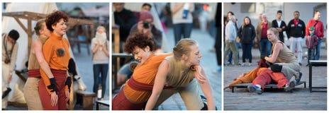 Représentation de rue Photographie stock