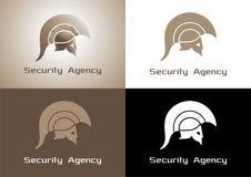 Logo «d'agence de sécurité» Images stock