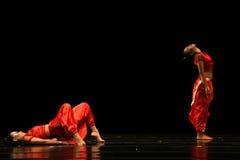 Représentation unique de danse Image stock