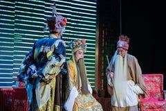 Représentations d'opéra de Sichuan Photographie stock libre de droits