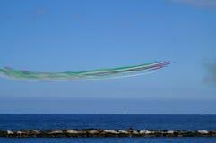 Représentations Pan Tricolor Arrows 2017 pour la célébration de Saint-Nicolas photos stock