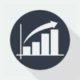 représentez graphiquement la conception plate, conception de maths, conception de données Photo stock