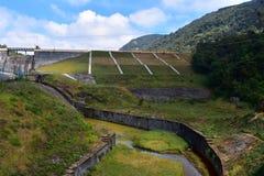 Represa alta de Wavys em montes de Meghamalai fotografia de stock royalty free