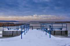 Represa da água Fotografia de Stock