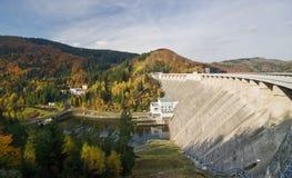 Represa da água Foto de Stock