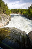 Represa da água Foto de Stock Royalty Free