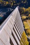 Represa de Bissina - Adamello Trento Itália Foto de Stock Royalty Free
