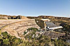 Represa de Furnas em Minas Gerais, Brasil fotografia de stock