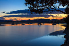 Represa de Gariep, África do Sul Fotografia de Stock