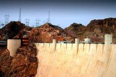 Represa de Hoover Imagem de Stock