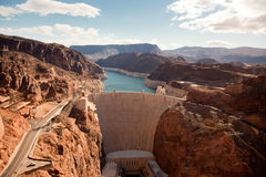 Represa de Hoover Fotografia de Stock Royalty Free