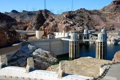 Represa de Hoover Fotografia de Stock