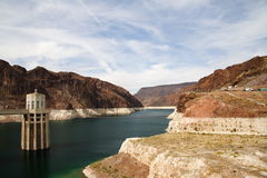 Represa de Hoover Foto de Stock Royalty Free