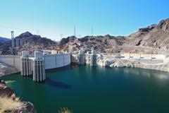 Represa de Hoover EUA Imagens de Stock Royalty Free