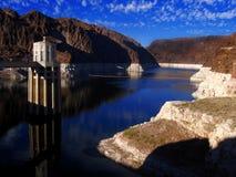 Represa de Hoover, garganta grande, EUA Imagem de Stock