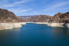 Represa de Hoover no lago Powell fotografia de stock royalty free