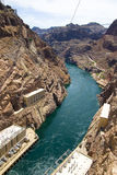 Represa de Hoover no lago Powell fotos de stock royalty free