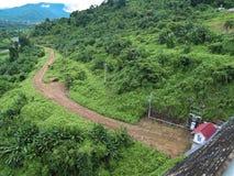Represa de Khun Dan Prakan Chon Fotografia de Stock Royalty Free