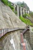 Represa de Kurobe Foto de Stock