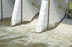Represa de Mae Klong Imagem de Stock