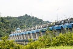 Represa de Mingtan Fotos de Stock Royalty Free