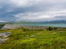Represa de Noruega fotos de stock royalty free