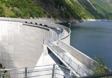 Represa de Noruega Zakariasdammen Fotografia de Stock Royalty Free