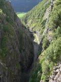 Represa de Noruega Zakariasdammen Imagem de Stock